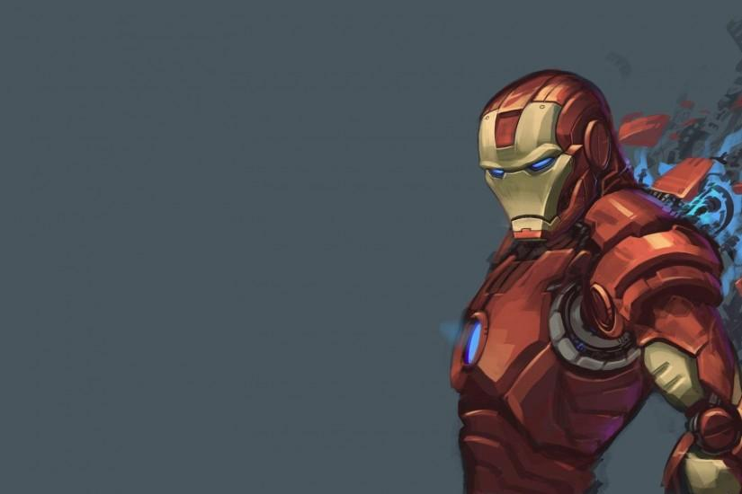 Iron Man Comic Book Wallpaper.
