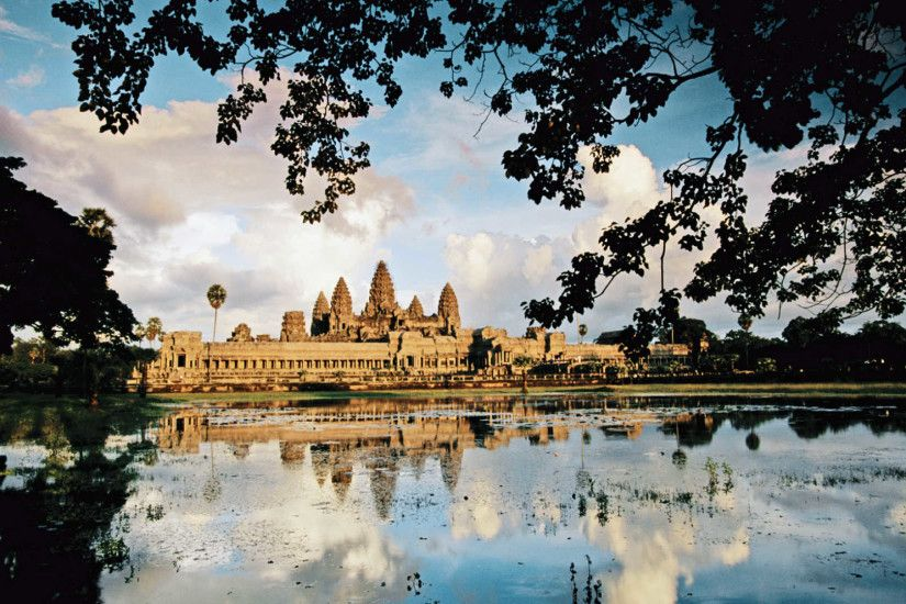 Angkor Wat. Images Map