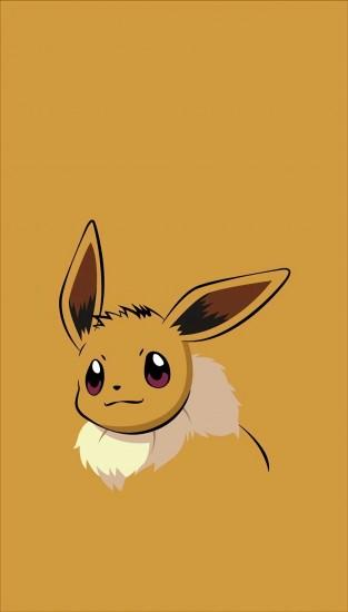 large eevee wallpaper 1092x1920 ipad