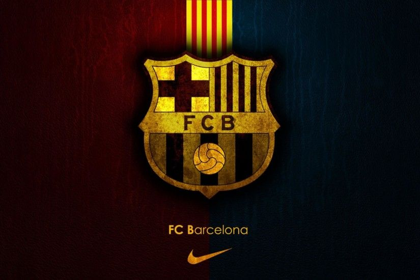 Barcelona Logo Wallpaper Pictures Download.
