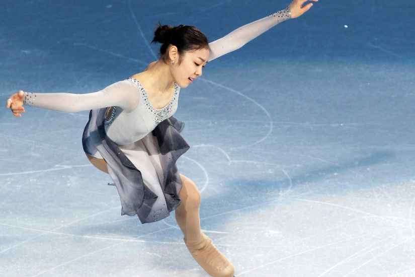 Yuna Kim - South Korean figure skater