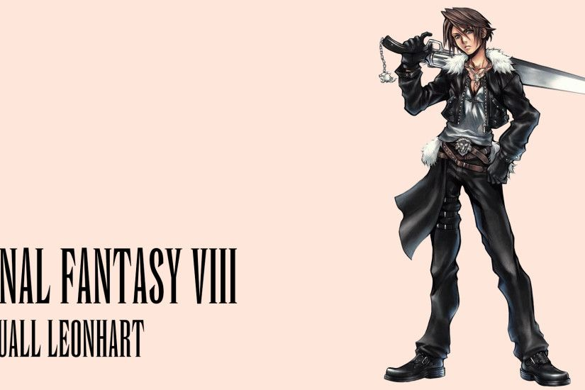 Video Game - Final Fantasy VIII Squall Leonhart Wallpaper