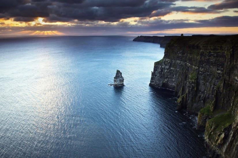 Cliffs of Moher, Ireland wallpaper - Beach wallpapers - #