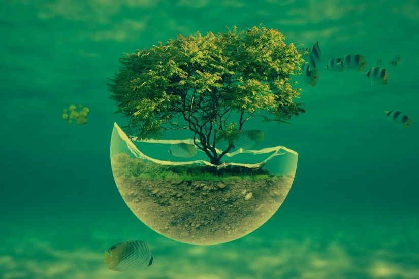 ... 1188_3d_abstract 1920x1080-underwater-tree-widescreen-hd-abstract -desktop-wallpaper ...