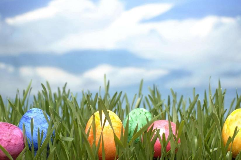 Wallpapers For > Easter Egg Grass Background