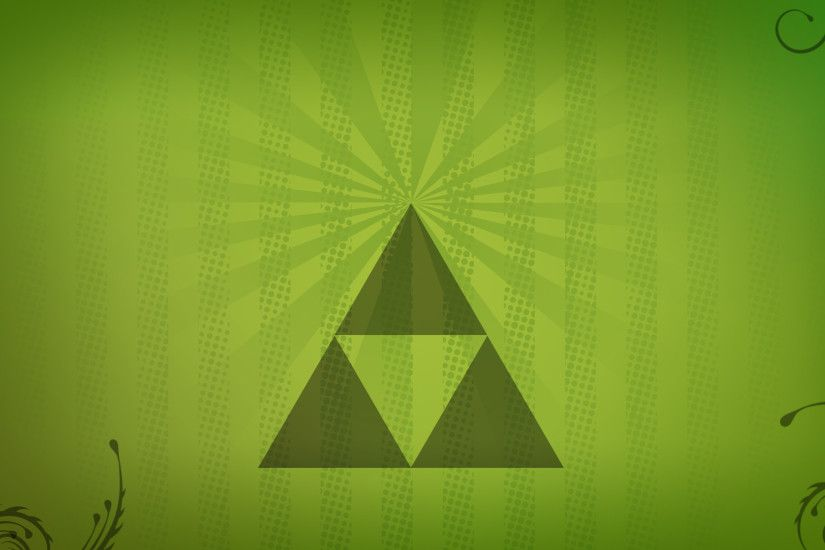 ... Zelda Triforce wallpaper - minimalistic by H-Thomson