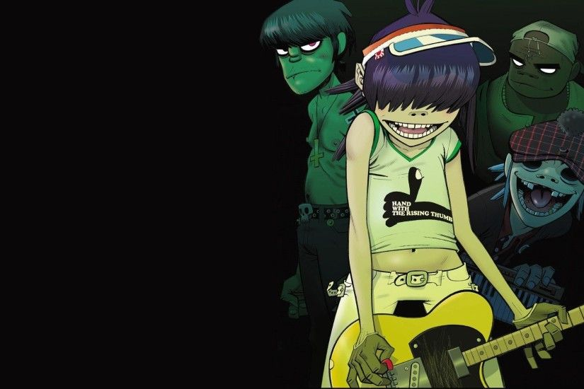 Gorillaz HD Wallpaper 1920x1080