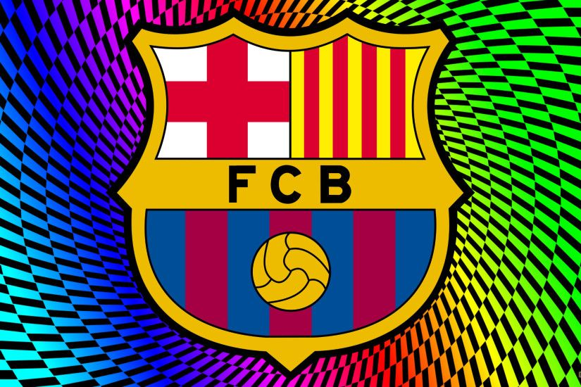 FC Barcelona wallpaper with logo.
