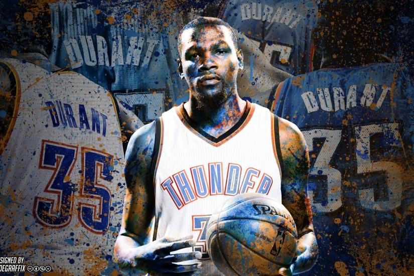 Kevin Durant | Painted | Wallpaper by ClydeGraffix on DeviantArt