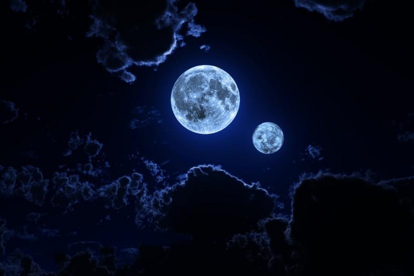 popular moon background 1920x1080