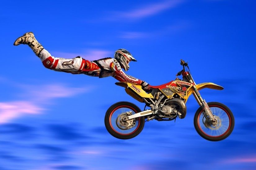 To Download or Set this Free Motocross Wallpaper as the Desktop Background  Image for your Laptop
