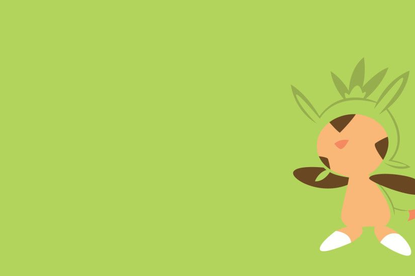 Pokemon Wallpapers . Chespin! . by Flows-Backgrounds on DeviantArt ...