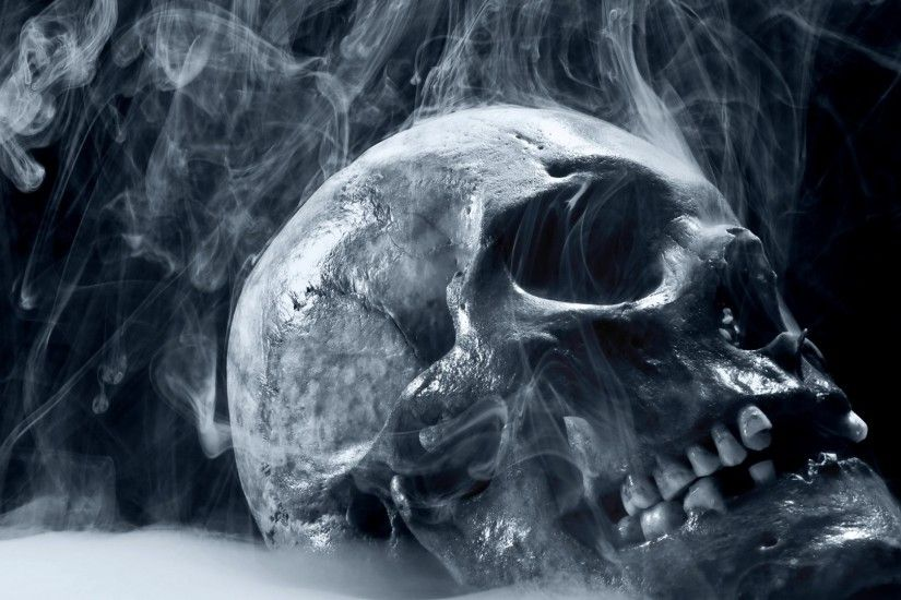 Scary Skull Wallpapers For Desktop 1920×1080 #22746 HD Wallpaper Res .