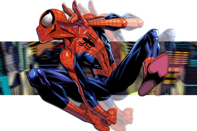 Funny Spider Man From Comics Wallpapers