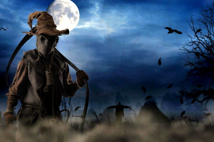 Halloween Wallpaper Download Free Scary Hd - Wallpapers Mela