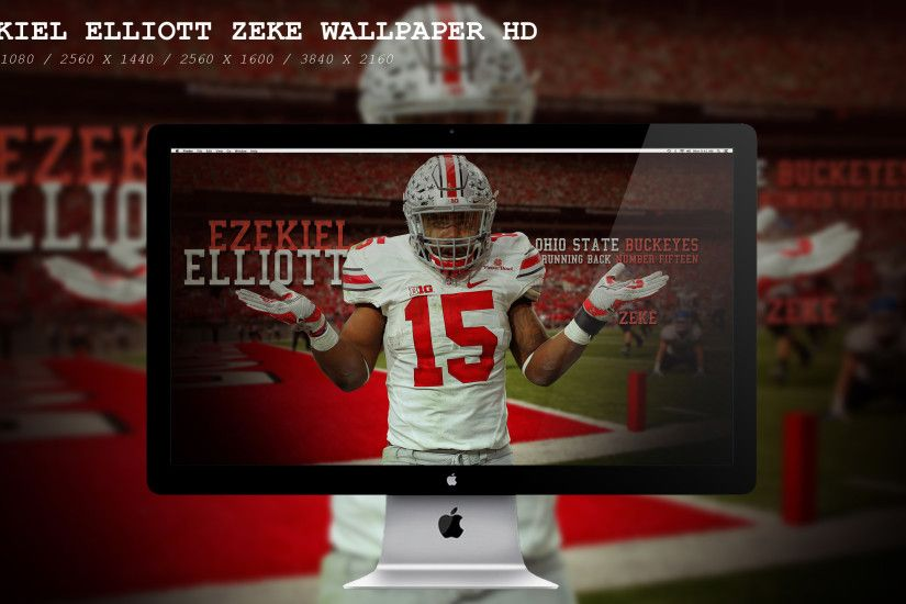 ... Ezekiel Elliott Zeke Wallpaper HD by BeAware8