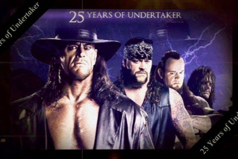 Undertaker Evolution – 25 years in pictures – YouTube
