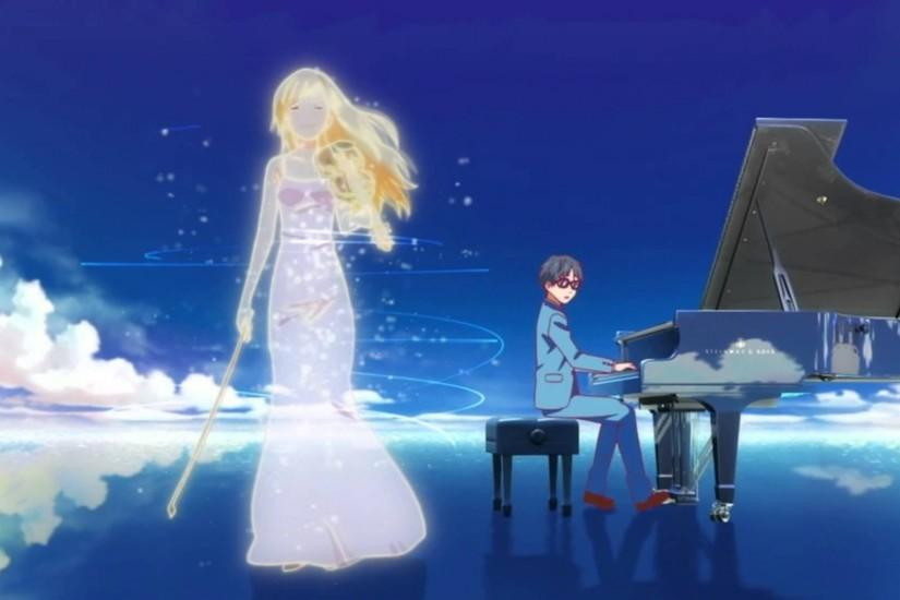 【AMV】 四月は君の嘘 Shigatsu wa Kimi no Uso - The Memory - YouTube