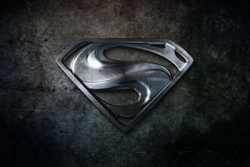 HD Superman Logo Ipad Backgrounds.