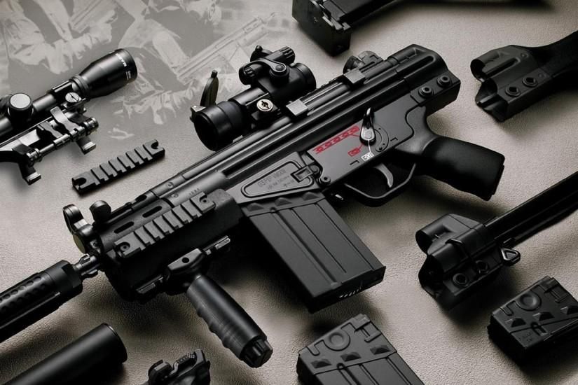 Guns Wallpapers 2012
