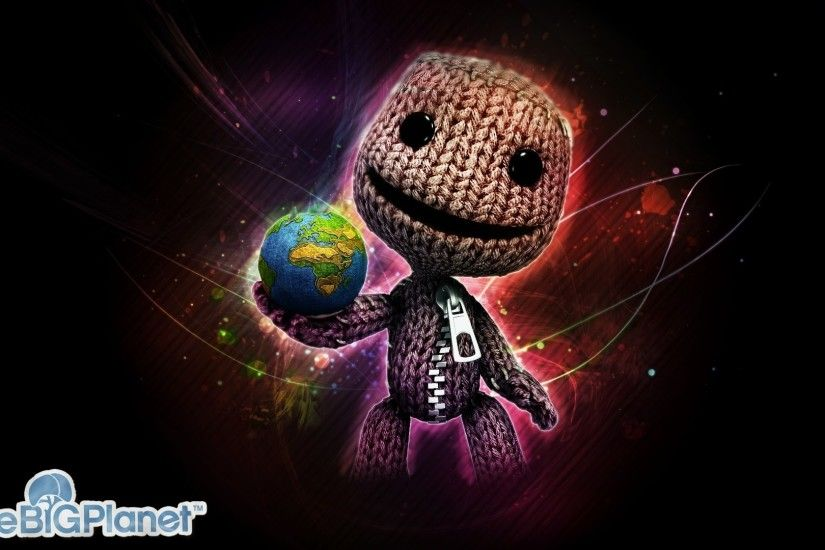 1920x1080 Wallpaper littlebigplanet, lbp, little big planet, sackboy, doll