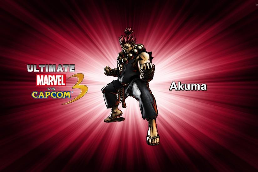 Akuma - Ultimate Marvel vs. Capcom 3 wallpaper