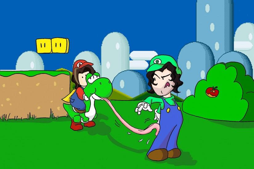 Fredcheeseburger 10 1 Game Grumps in Super Mario World by Fredcheeseburger