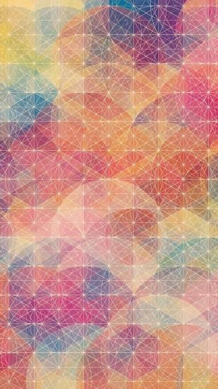 Circles and plain polygons Mobile Wallpaper 3060