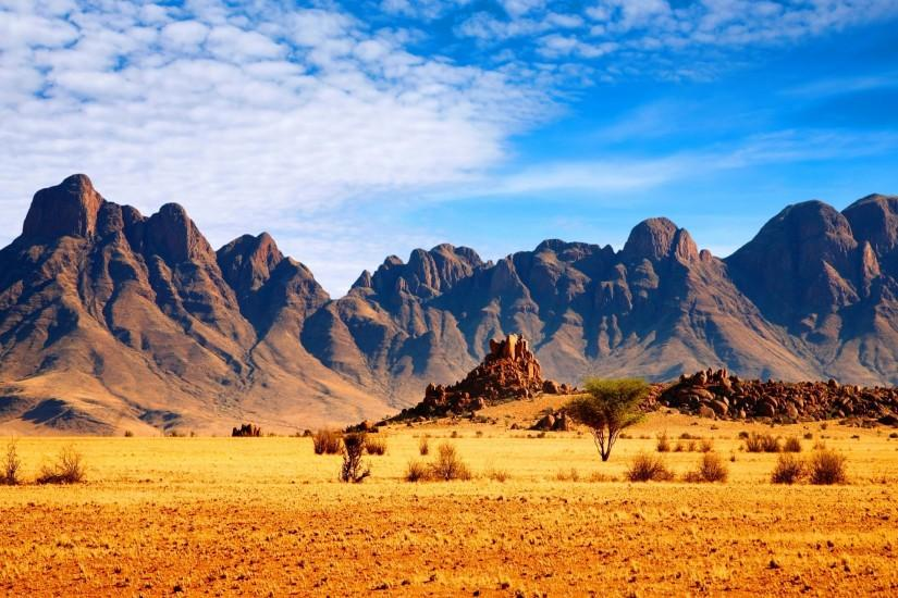File Name : African Nature Background Mountains, savanna, wallpaper