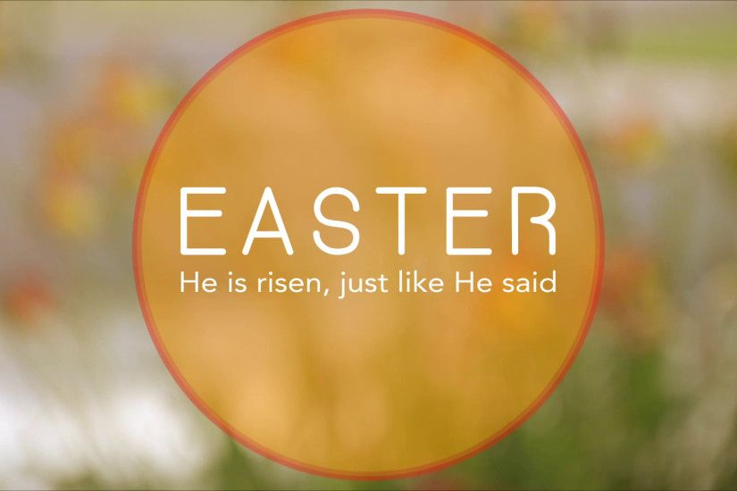 Subscription Library Easter Jesus Is Risen Title Background