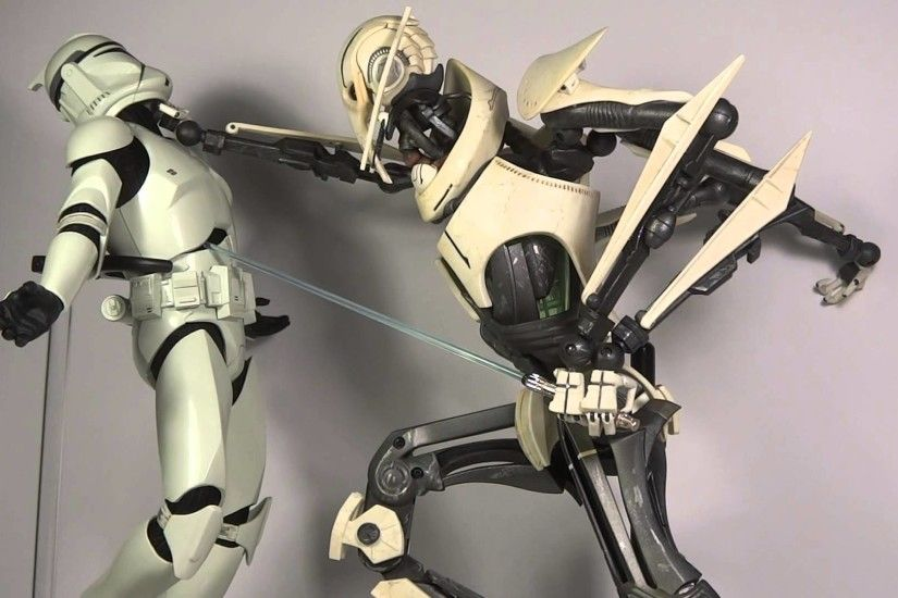 "113th Toy Pose Review Sideshow Collectibles ""General Grievous Rampage!"""