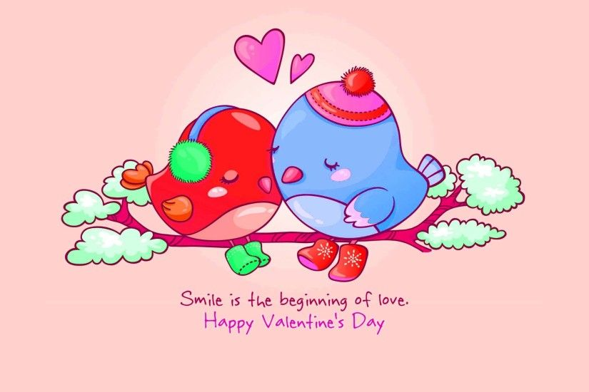 valentine love birds HD wallpaper - Valentines