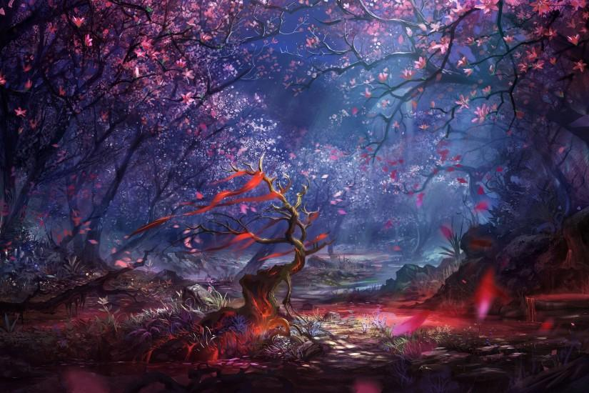 popular fantasy landscape wallpaper 3800x2149