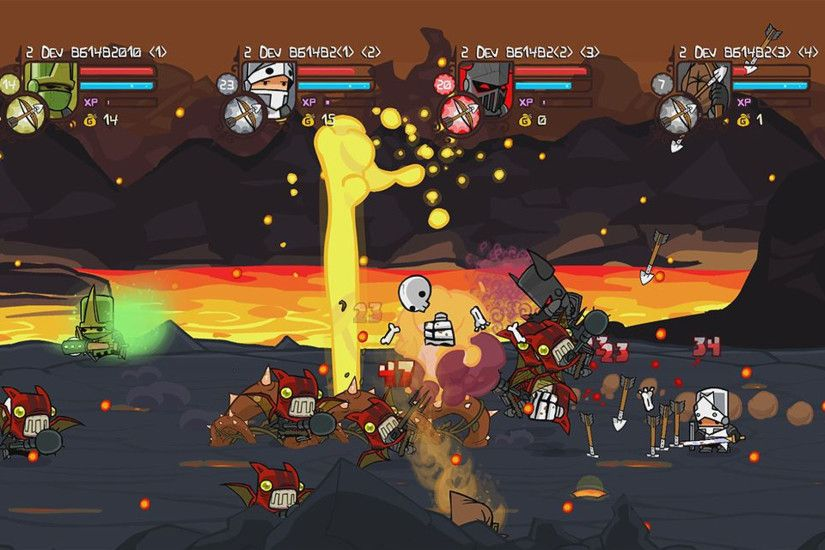 There are far more images available for Castle Crashers, but these are the  ones we felt would be most useful to you. If you have specific requests, ...