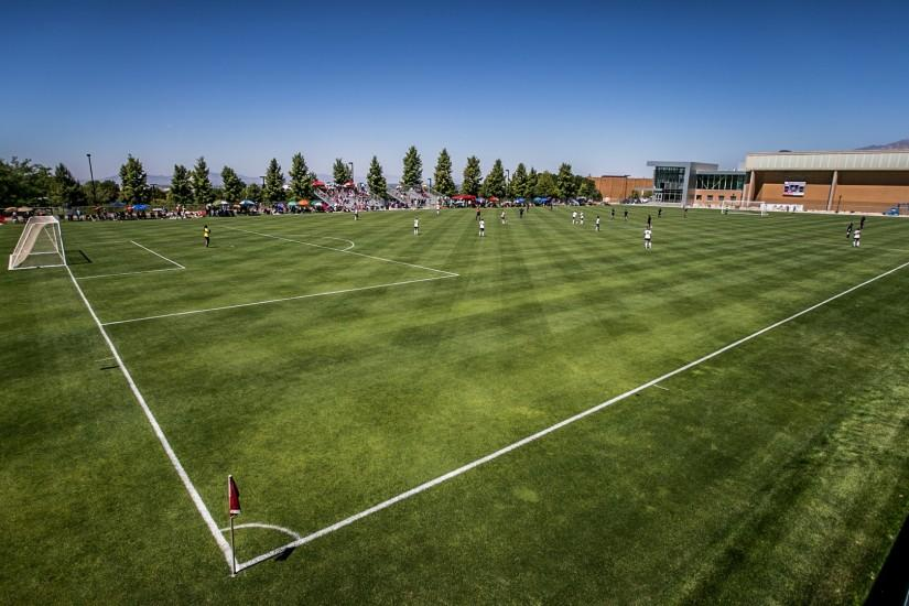 soccer field background hd