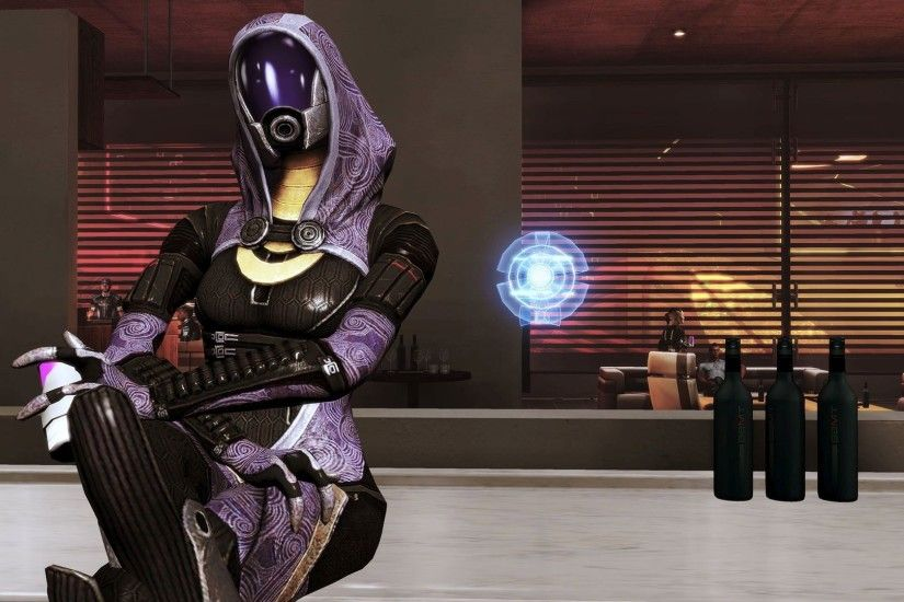 Tali'Zorah nar Rayya - Mass Effect HD Wallpaper 1920x1080 ...