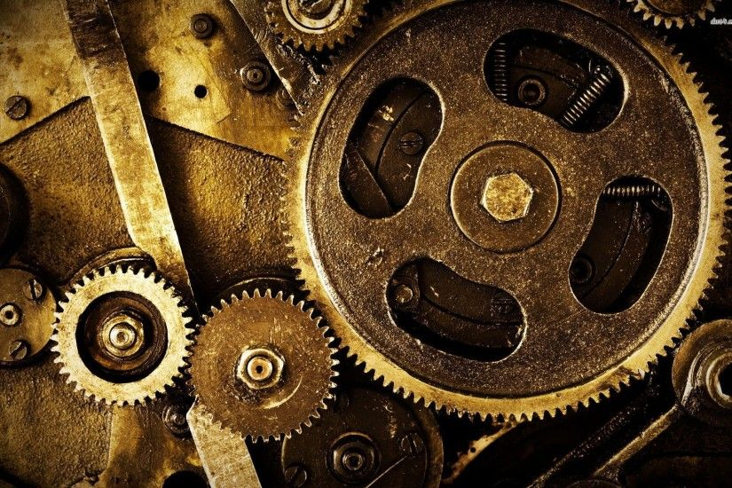 Mechanical Gears Wallpaper Hd Gears a machine is any device