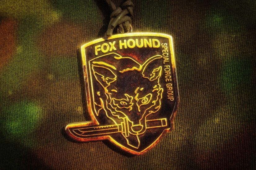 ... Fox Hound Pendant Camo Wallpaper by nxsvinyard