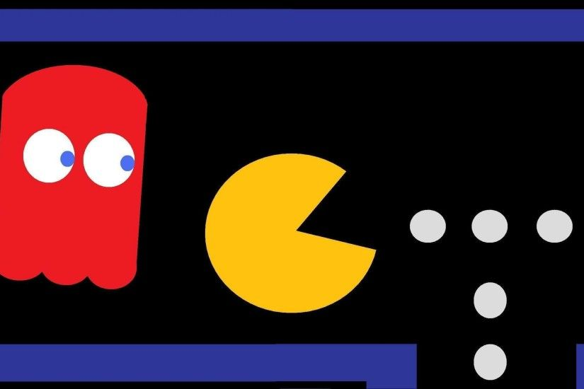 Pac-Man images Pacman Ghost Chase HD wallpaper and background photos