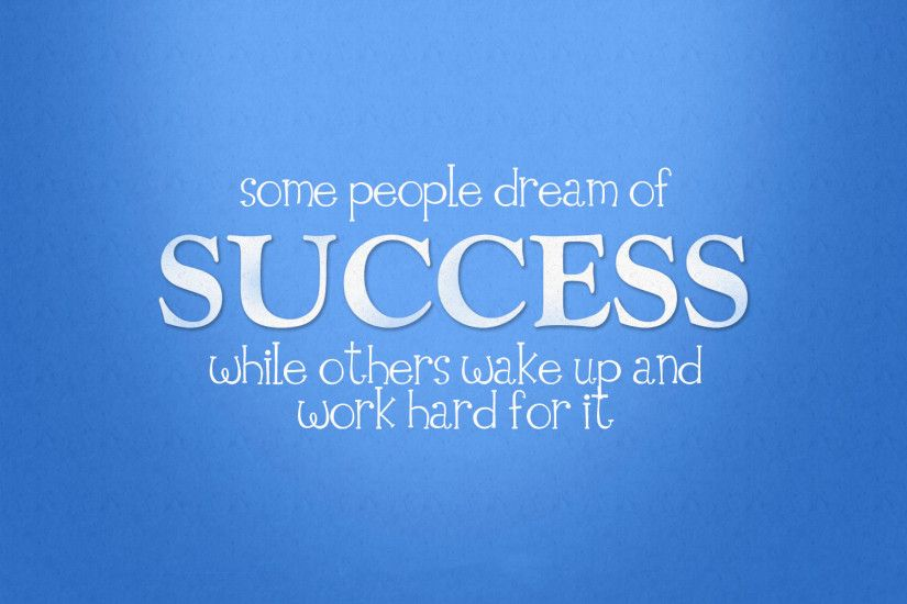 Success Quotes Wallpaper for PC