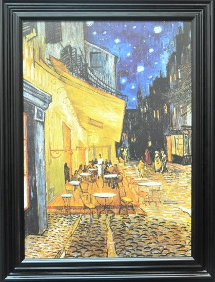 """Cafe Terrace at Night"""