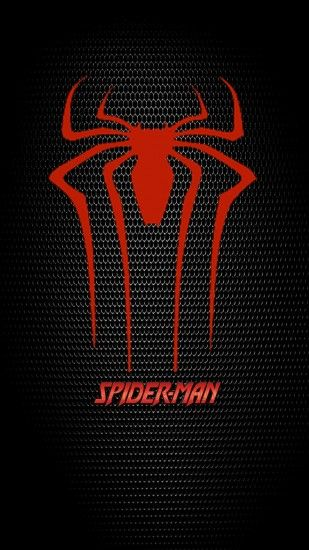 logos spiderman iphone 6 plus wallpapers - logo spiderma iphone 6 plus