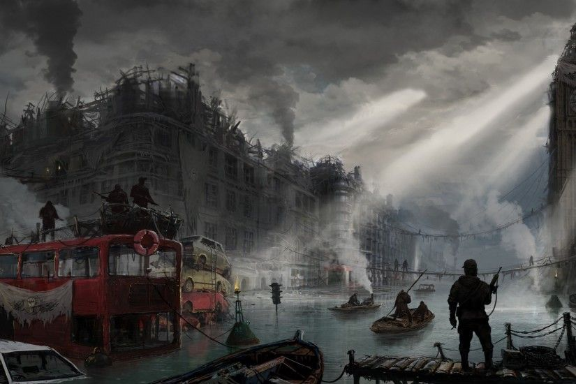 Post-apocalyptic London wallpapers and images - wallpapers