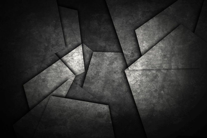 minimalism abstract monochrome pattern geometry shapes dark metal triangle  wallpaper and background