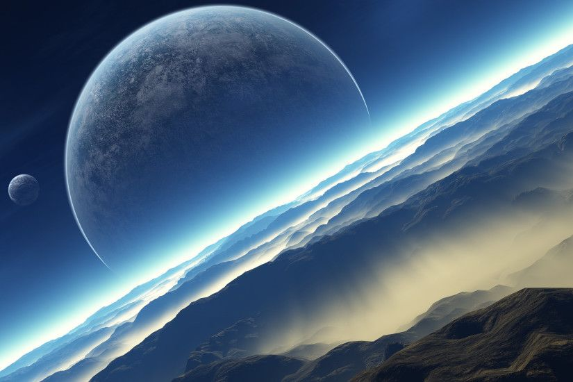 3d space scene hd wallpapers desktop wallpapers high definition background  photos free windows apple display picture 1920×1200 Wallpaper HD
