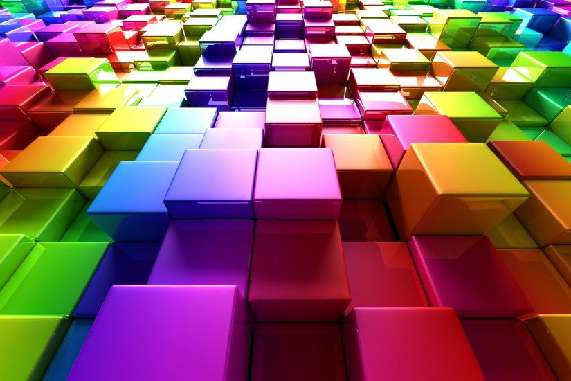 Colorful cubes