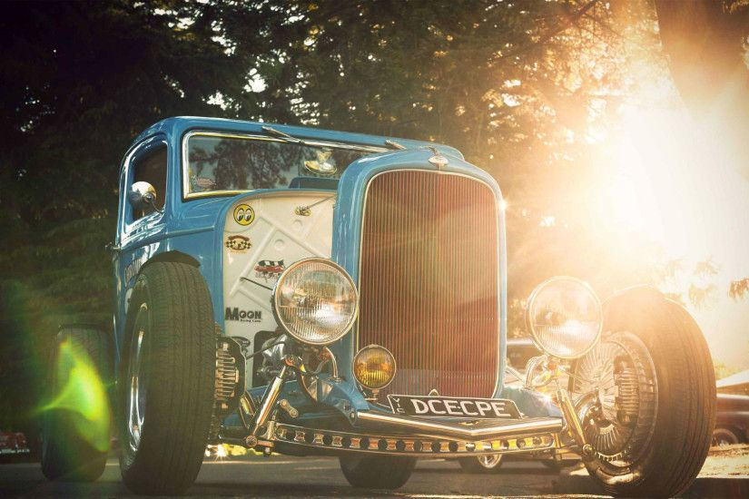 Vehicles - Hot Rod Rat Rod Wallpaper