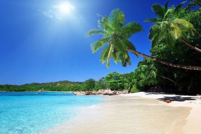 1920x1200 Tropical caribbean beach Wallpapers | Pictures