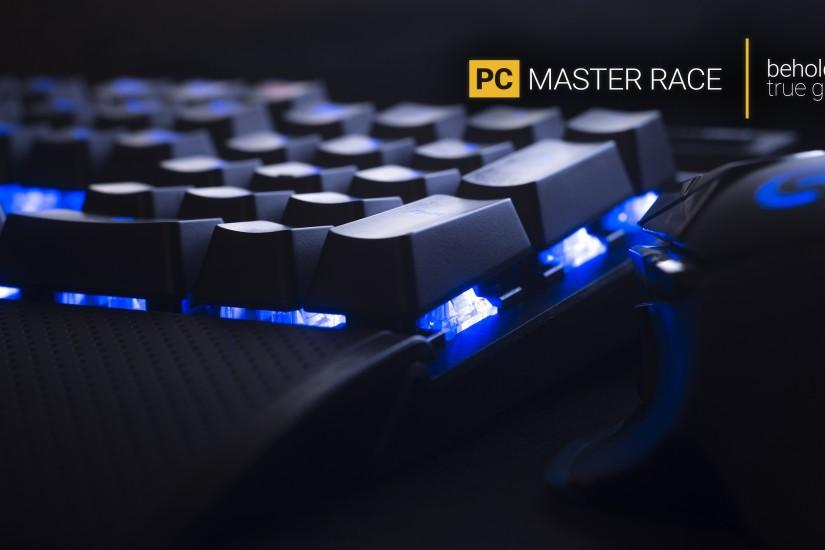 download pc master race wallpaper 3840x2160 lockscreen