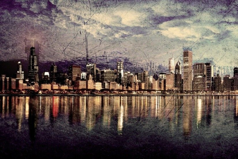Chicago Skyline Wallpapers (48 Wallpapers)